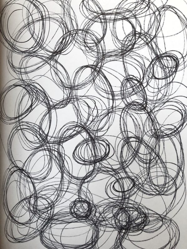 Kimberly Kradel :: Circles I, Sketchbook, 2019